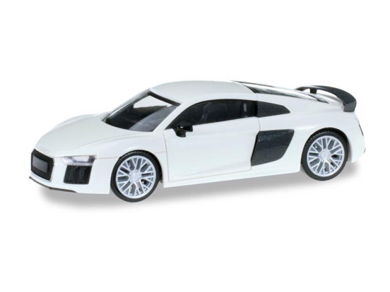 audi r8 v10 plus ibisweiss herpa 028516. Black Bedroom Furniture Sets. Home Design Ideas