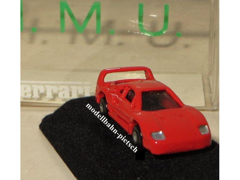 N Ferrari F40 1 160 Metallmodell Imu Euro Model J Stettnisch 12006