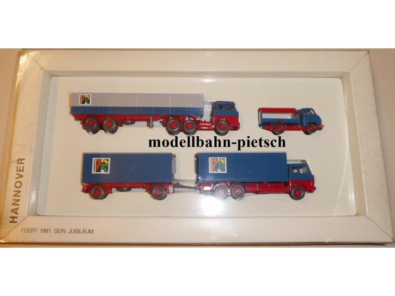 Modellbau Hannover 750 jahre hannover 1991 3 hanomag henschel modelle wiking
